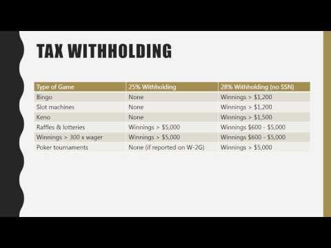 Gaming & Taxes
