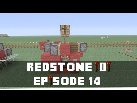 Minecraft Xbox 360 -  How to make a Hidden & Retractable Crafting Table  (Redstone Tutorial) (Xbox)