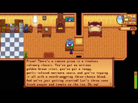 How to learn Pizza Cooking recipe - Stardew Valley