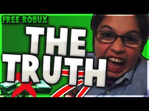 FREE ROBUX (The TRUTH!!) - Linkmon99 ROBLOX