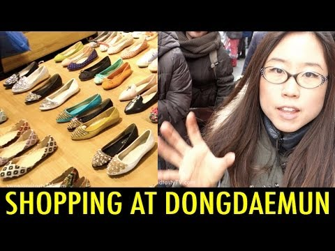 Shopping in Dongdaemun Market (KWOW #147)