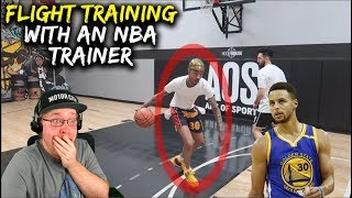 Reacting To FlightReacts Day 2 W/ NBA Trainer - 1V1 Isolation Moves GUARANTEED To DESTROY Opponents!