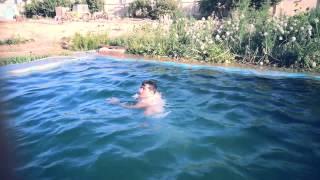 afghani pool jumping