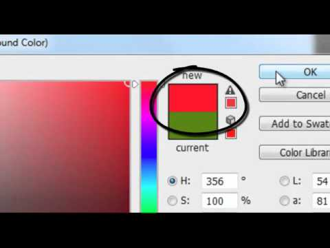 Photoshop CS6 - Color Picker problem.