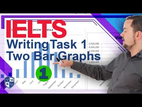 Academic IELTS Writing Task 1 Two Bar Graphs Together Part 1