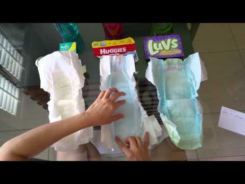 Pampers Swaddlers vs Huggies Snug and Dry vs Luvs