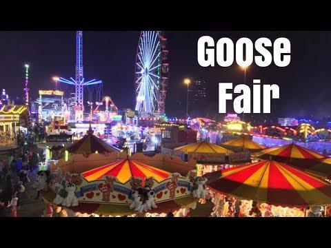 Nottingham Goose Fair Vlog October 2017