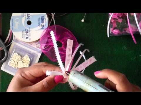 PIN ON PARTY FAVORS (CAPIAS) TUTORIAL