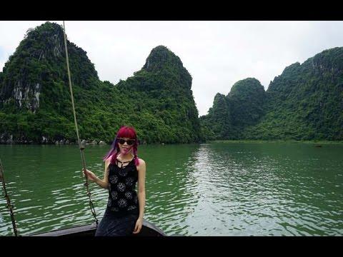 Vietnam Food Tour! Hanoi & Ha Long Bay cooking classes, cave boat cruise, market tours