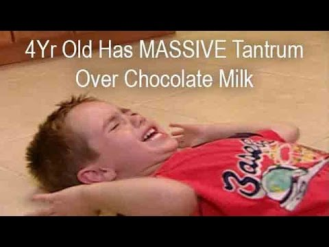 Boy Throws a MASSIVE Tantrum Over Chocolate Milk | Supernanny