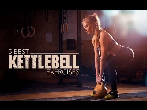 5 Best Kettlebell Exercises (HITS ENTIRE UPPER BODY!!)