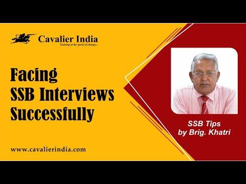 Facing SSB Interview Successfully || SSB Tips by Brig. Khatri