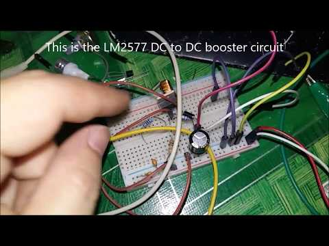 How to get step 5 volt USB to 12 Volt electronic project