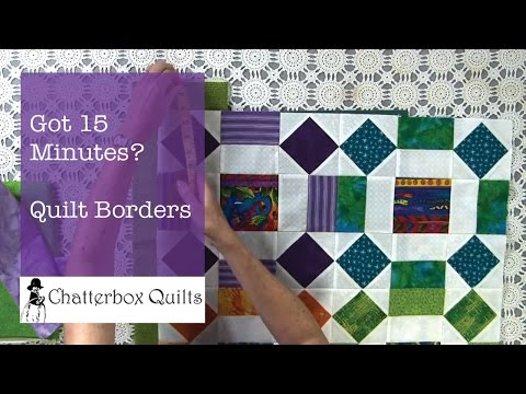 Calculating and Cutting Borders - Got 15 Minutes? Episode 3