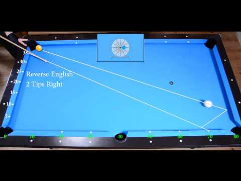 Two Rails Kick Shots Drill 2 - Aiming with Diamond System - Biyar - Pool & Billiard training lesson