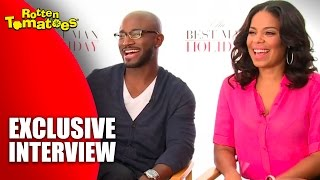 Taye Diggs, Sanaa Lathan, & Nia Long's Favorite Gifts - 'The Best Man Holiday' Interview (2013)