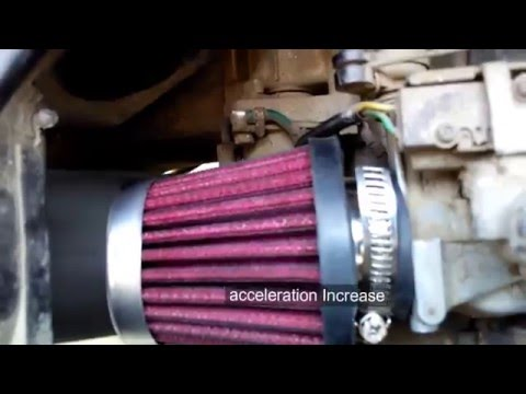 How To Install HP Air Filter In Honda Aviator(2011)