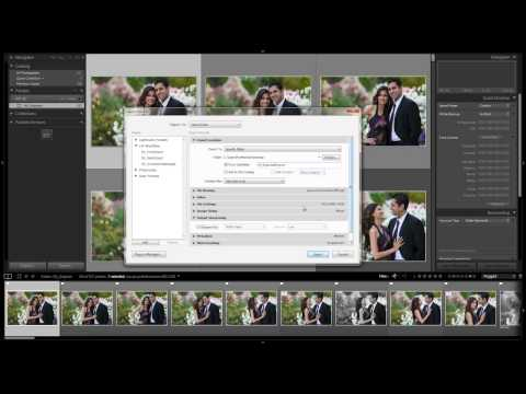 How to Create an Export Preset for Rejected Images - From the Workflow System Workshop on DVD