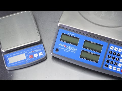 AvaWeigh Commercial Scales