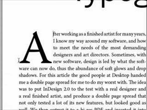 InDesign Optical Typography (No. 36)