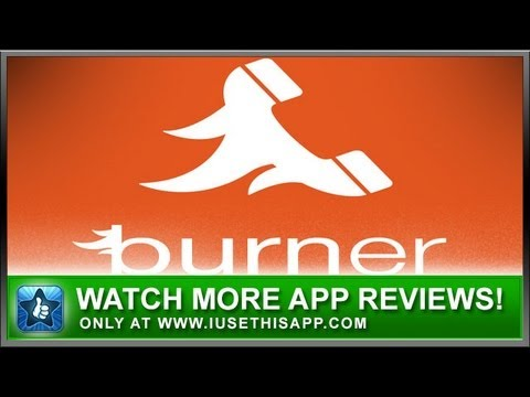Burner Disposable Numbers iPhone App - App Reviews