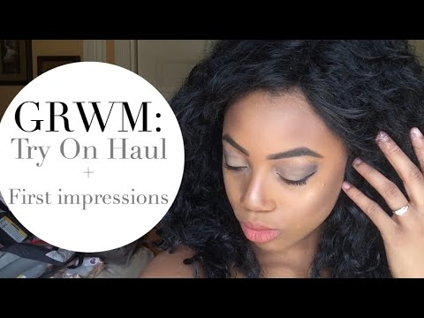 GRWM: Drug Store Makeup Try On Haul! First Impressions - CoverGirl, E.L.F., Maybelline Cosmetics