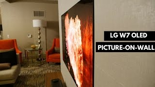 LG W7 Wallpaper OLED Picture-on-Wall