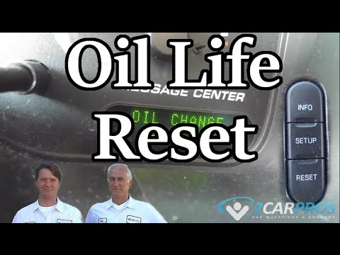 HOW TO RESET OIL LIFE IN MINUTES! - Ford Explorer 2002-2005