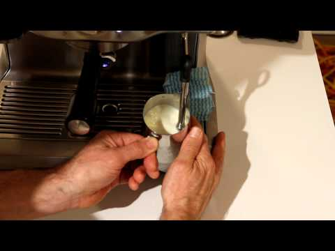 Milk Frothing made easy by Breville