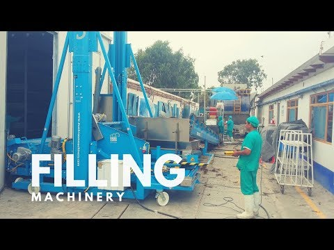 Mushroom Machinery - Outstanding Filling of Casing Phase II in practice