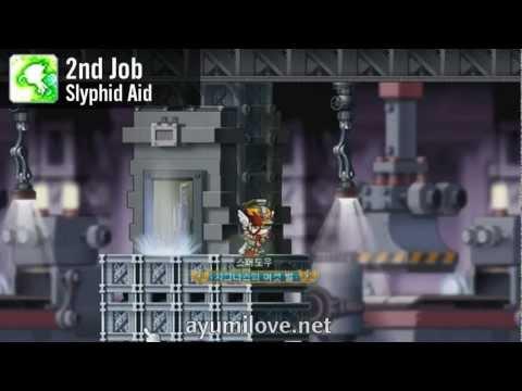 Ayumilove MapleStory Wind Archer Breaker 1st 2nd 3rd 4th Job Skills Preview Revamp 2013