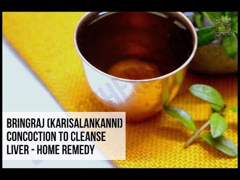 Bringraj to cleanse liver - Natural remedy