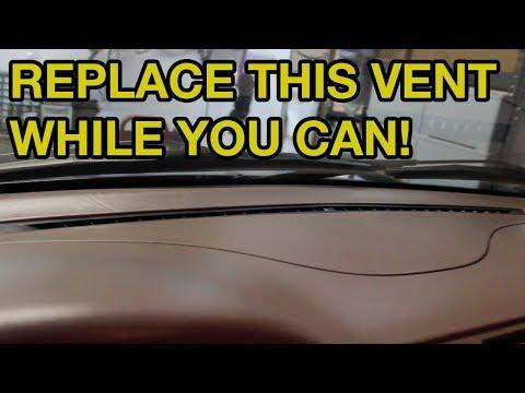 W163 Mercedes Benz Defrost Vent PSA