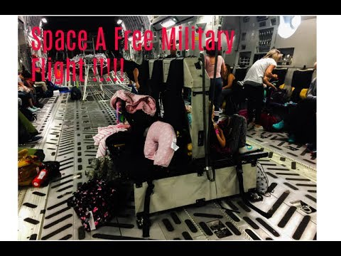 Space A Military Free Flights!!