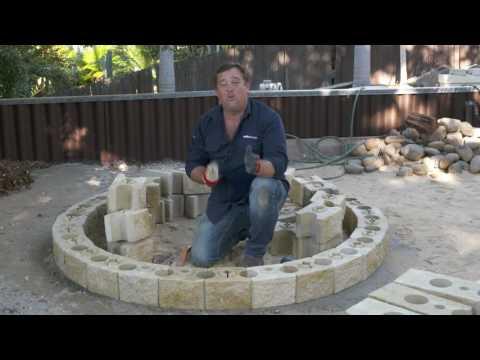 DIY Fire Pit | AB Courtyard by Adbri Masonry