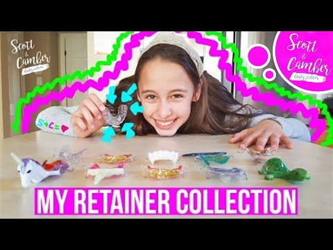 I MADE A CLEAR RETAINER!! - MY RETAINER COLLECTION!