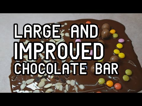 Large and Improved CHOCOLATE BAR in 30 seconds