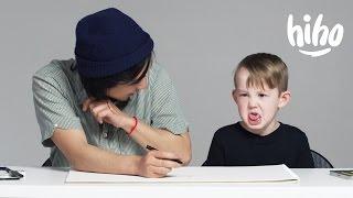 Kids Describe Love to an Illustrator   Kids Describe   HiHo Kids
