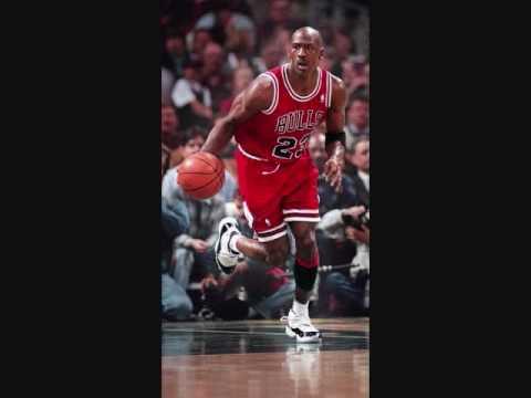Michael Jordan wearing Jordans