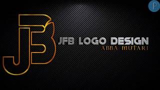 J-F-B Professional Logo Design Tutorial | Pixellab Logo Design Tutorial