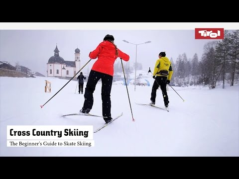 The Beginner's Guide to Skate Skiing - Cross Country Skiing