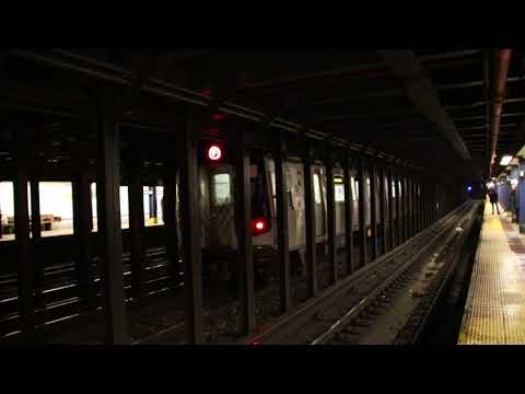 MTA NYC Subway rerouted F trains passing 8th St/NYU