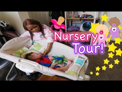Silicone Reborn Baby Nursery Tour 2017! My Art Studio!