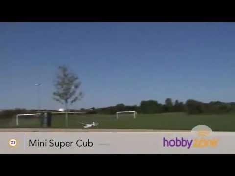 HobbyZone Mini Super Cub R/C Airplane Flying