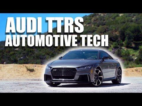 Audi TTRS - The Latest in Automotive Tech