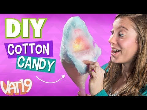 MAKE COTTON CANDY using ANY hard candy!