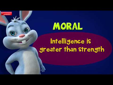 The Clever Rabbit | Stories for Kids | Infobells