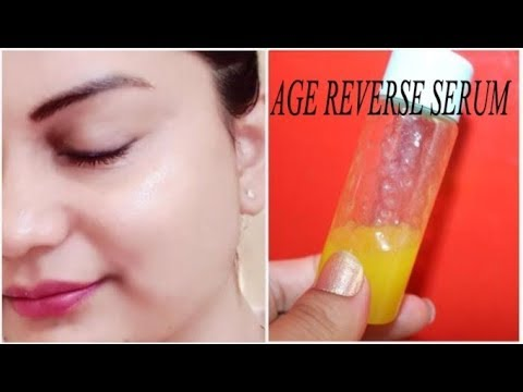 This serum can keep you young & plump at the age of 60 : Age Reverse Glow Serum