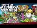 Pokémon X and Y - All Mega Stone Locations Guide!