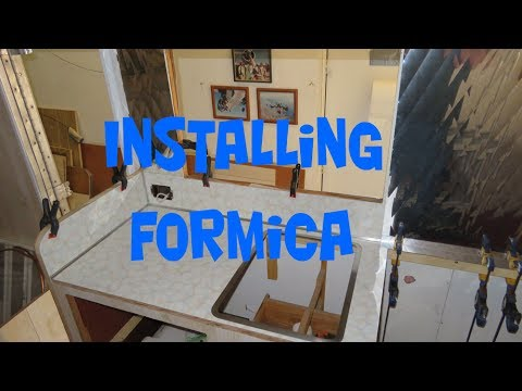 Quick Tip #11 Installing Formica for the 66 Super Shasta